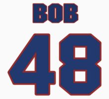 National football player Bob Clemens jersey 48 by imsport