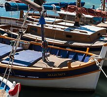 Fishing boats, Cassis, French Riviera by atomov