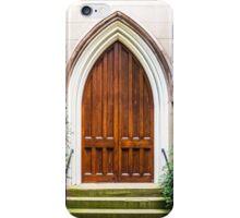 Arched Doorway in Church iPhone Case/Skin