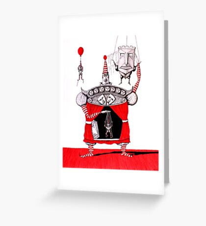 Theater of Life Greeting Card