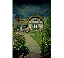 Welcome to Hobbiton Photographic Print