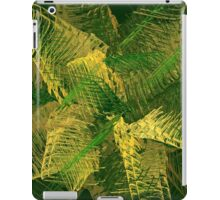 Green and gold abstract iPad Case/Skin