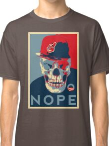 "Rage Skull Portrait inspired by the Barack Obama ""Hope"" poster designed by Shepard Fairey. Classic T-Shirt"