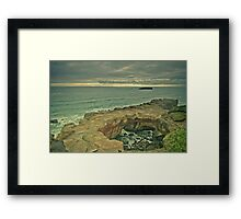 Devil's punch bowl Oregon Framed Print