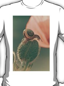 The poppy and the snail T-Shirt