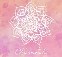 Namaste - Rose Quartz by CarlyMarie