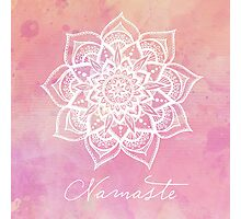 Namaste - Rose Quartz Photographic Print