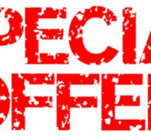 Special Offer (Red) Sticker