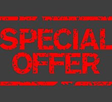 Special Offer (Red) by theshirtshops