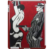 The Gangsters Moll iPad Case/Skin