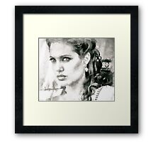 Beauty of the queen  Framed Print