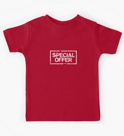 Special Offer (White) Kids Tee