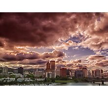 Portland Skyline Photographic Print