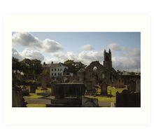 Holywood Priory Church Art Print