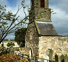 Clock Tower, Holywood Priory Church by Stephen Maxwell