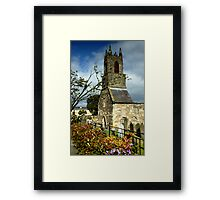 Clock Tower, Holywood Priory Church Framed Print