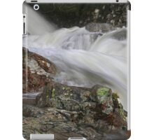 Water Sculpture at Stickle Ghyll,Great Langdale iPad Case/Skin