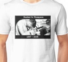 Hunter S. Thompson: Young & Drunk Unisex T-Shirt