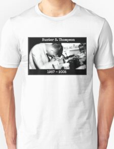 Hunter S. Thompson: Young & Drunk T-Shirt