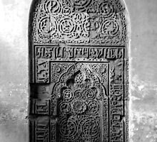 Carved Wall by Ravi Chandra