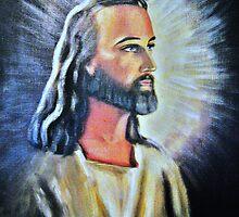 An Artist´s Portrayal Of Jesus by HELUA