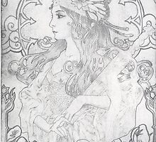 Lady of the Lake I by Kagara