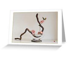 Ikebana-036 Greeting Card  Greeting Card