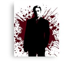 Hannibal - Splatter Series - Dr. Lecter Canvas Print