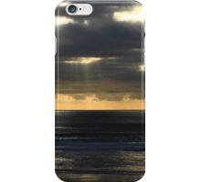Lightbeams - Wild Pembrokeshire National Park iPhone Case/Skin