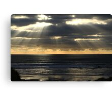 Lightbeams - Wild Pembrokeshire National Park Canvas Print