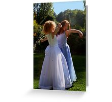Gracefull Princesses Greeting Card