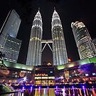 Kuala Lumpur Twin Tower by Steven  Siow