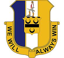 391st Infantry Regiment - We Will Always Win Photographic Print