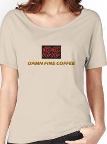 RR - Damn fine coffee Women's Relaxed Fit T-Shirt