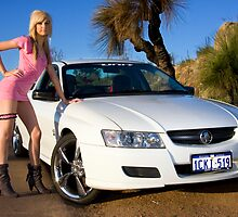 Hot Girls love Hot Cars by Nigel Donald