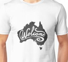 Welcome Australia Unisex T-Shirt
