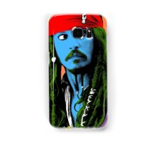 Captain Jack Sparrow Andy Warhol style Poster, Pop Art Big Digital Poster Portrait.  Samsung Galaxy Case/Skin