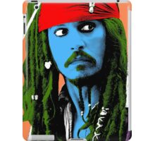 Captain Jack Sparrow Andy Warhol style Poster, Pop Art Big Digital Poster Portrait.  iPad Case/Skin
