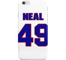 National football player Neal Sweeney jersey 49 iPhone Case/Skin