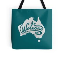 Welcome Australia - White Tote Bag
