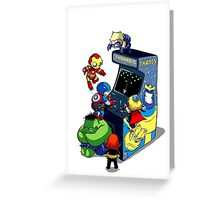 Infinity Arcade Greeting Card