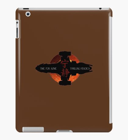 Time for some thrilling heroics iPad Case/Skin