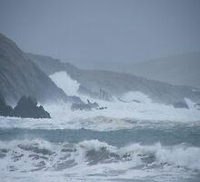 Wild Surf at St Ninians Beach by matthewvl