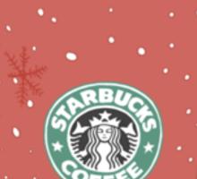 Winter Starbucks Sticker