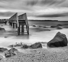 Ballycastle - The Long Bridge by Nigel R Bell
