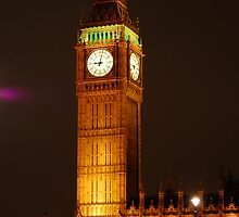 Big Ben at Night by Chris Chandler