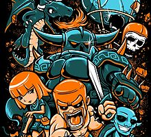 Clash of Clans 02 by Crab-Metalitees
