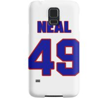 National football player Neal Craig jersey 49 Samsung Galaxy Case/Skin