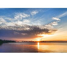 Brilliant June Sunrise - Toronto Skyline Impressions Photographic Print