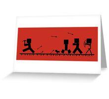 Skeletons... Greeting Card